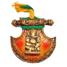 Fan Ganesha Wall Hanging