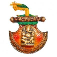 Fan Ganesha Wall Hanging
