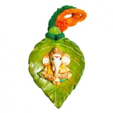 Wall Hanging Leaf Ganesha