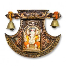 Ganesha Wall Hanging With Musical Bell