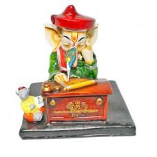 Ganesha Writing Upanishads