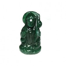 Hanuman In Green Jade