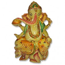 Right-Sided Trunk Lucky Ganesha