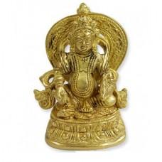 Kubera Statue In Brass