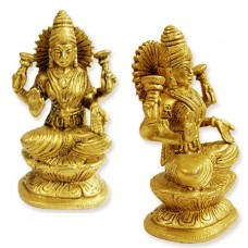 Mahalakshmi Idol In Brass