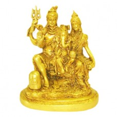 Shiva Parivar In Brass