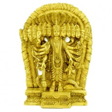 Virat Vishnu In Brass