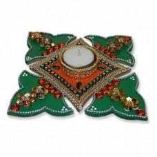 Rangoli In Petals Design