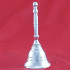 Hand Bell In German Silver