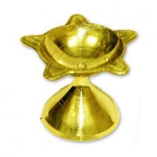 Panch Mukhi Lamp In Brass