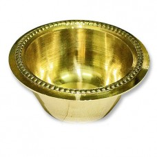 Bowl In Brass With Fine Antic Finish