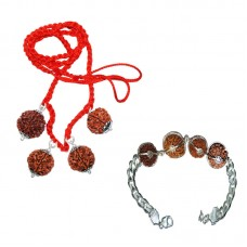 Rudraksha Sandhi for Wealth (Dhan)