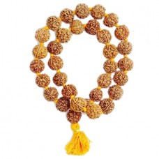 Five Mukhi Rudraksha Kantha Mala