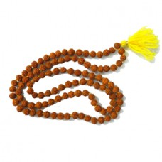 Panchmukhi Rudraksha Mala In Thread - 5mm Size