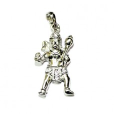 Hanuman Locket In Silver