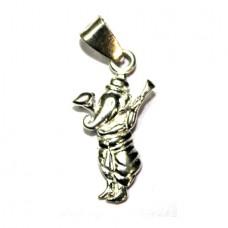 Ekdanta Ganesha In Silver