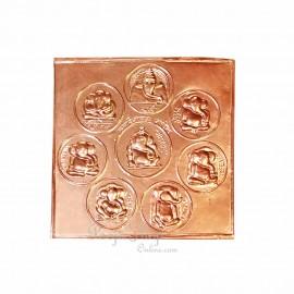 Ashtavinayak Idols In Copper