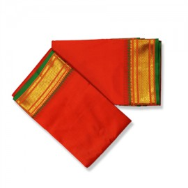 Dhoti (Pancha) With Shawl