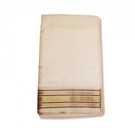Shawl With Golden Border