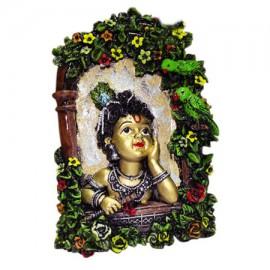 Bansi Kanha Wall Hanging Frame (Krishna)