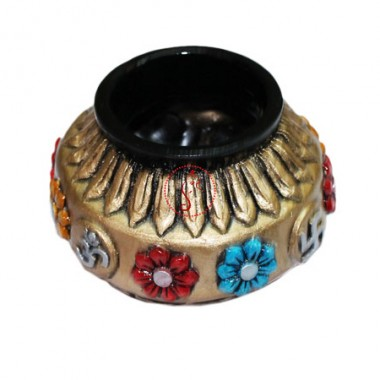 Designer Golden Pot