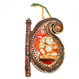 Fan Ganesh Wall Hanging