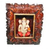 Lord Ganesha In Frame For Desktop
