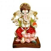 Ganesha On Lotus