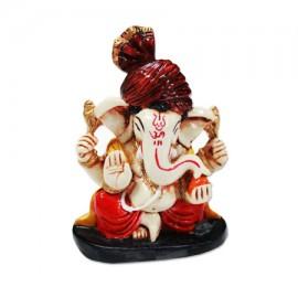 Ganesha With Pagdi