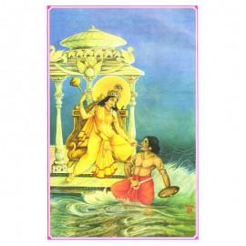 Dus Mahavidya Goddess Baglamukhi Photo