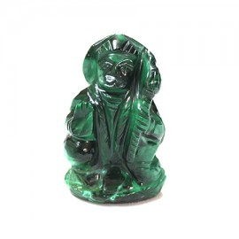 Hanuman In Malachite