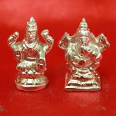 Ganesh Laxmi idol in Parad