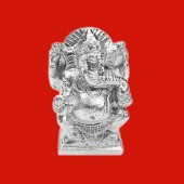 Ganesha Statue in Parad - 115 gms