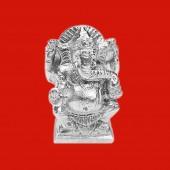 Ganesha Statue in Parad - 115 gms
