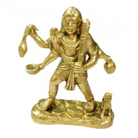 Lord Bhairavi Statue In Brass