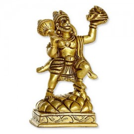 Lord Hanuman Statue In Brass