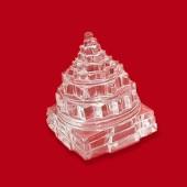 Shree Yantra In Crystal - 151 Gms