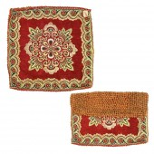 Rudraksha Mat on Designer Cloth