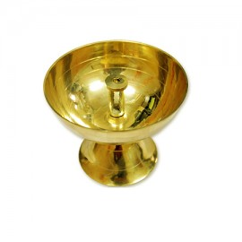 Shanti Lamp in Brass