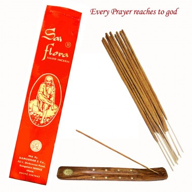 Sai Flora Incense Sticks with Holder