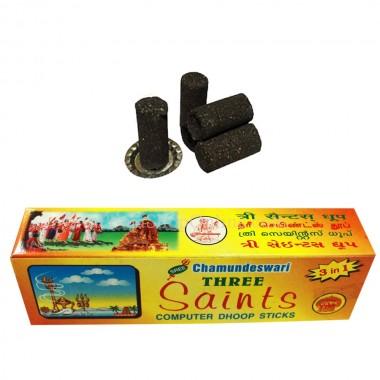 Three Saints Computer Dhoop Sticks