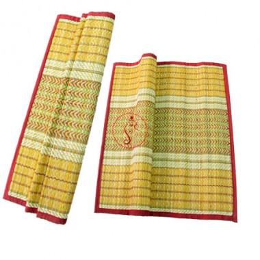 Kusha Aasan and Darbha Mat For Pooja Rituals