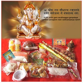 Lord Ganesha Pooja Kit