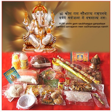 Lord Ganesha Pooja Kit
