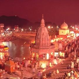 Pooja At Hari Ki Pauri, Haridwar