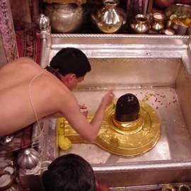 Pooja At Kashi Vishwanath, Varanasi