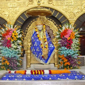Pooja At Sai Baba Temple, Shirdi