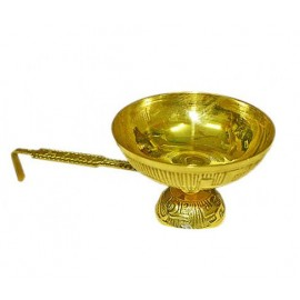 Dhoop Aarti Lamp In Brass