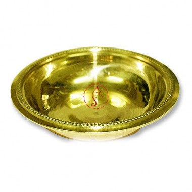 Bowl In Brass With Fine Finish