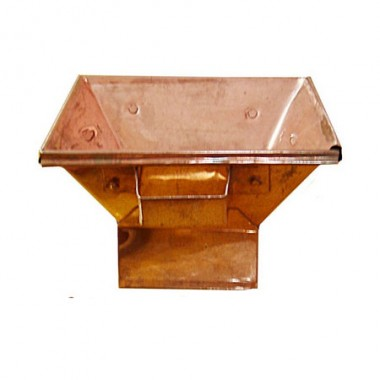 Hawan Kund With Base in Copper